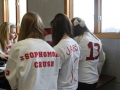 Students customized clothing to show their support in their own ways.