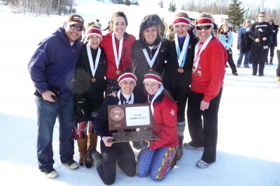 Alpine ski team represents BSM in state