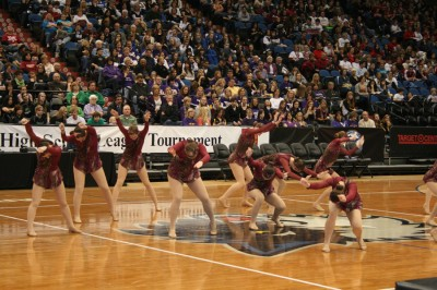 Knightettes' clutch performance wins state