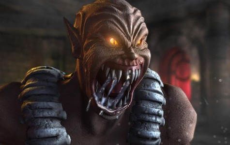 "Gory and retro: ""Mortal Kombat"""