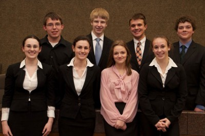 Mock Trial season testifies the team's talent