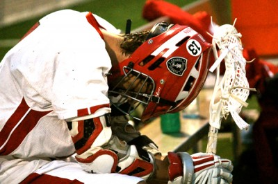 Winning streak comes to an end for boys&#8217; lacrosse