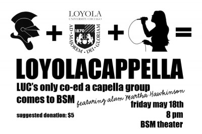 Loyolacappella to perform at BSM