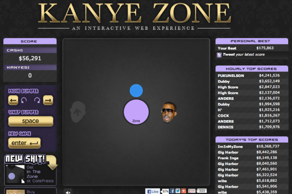 &#8220;Watch the Throne&#8221;-inspired website both addicting and annoying
