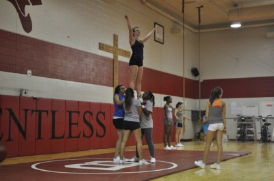 Cheerleading returns as an activity after ten years