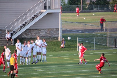 Boys' soccer ties Chisago Lakes in away game