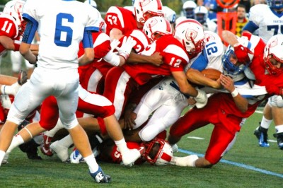 Red Knight football shutout by SLP Panthers