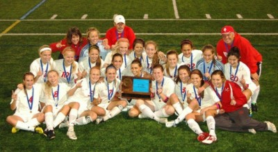 Girls' soccer advances to seventh State tournament in eight years