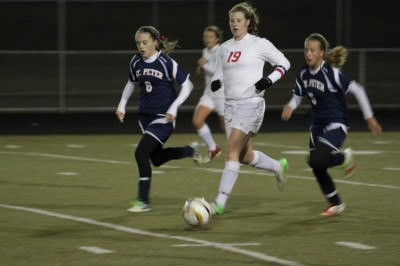 Girls' soccer advances in State tournament