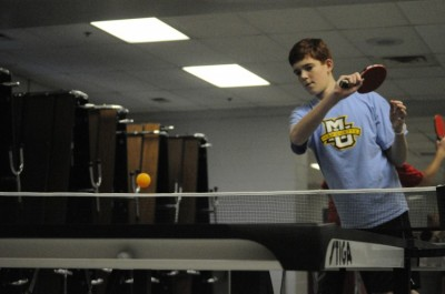Table tennis team gains popularity and prestige