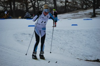 Freshman qualifies for Junior Olympics in nordic skiing