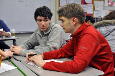 Knowledgable students find their niche on competitive, academic team