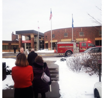 School population evacuates for fire alarm