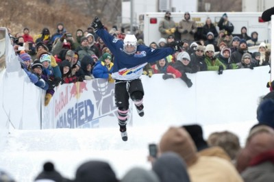 BSM alumna competes in Red Bull Crashed Ice