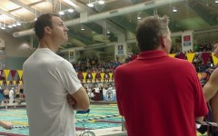 Two swimmers compete, nearly break records at State