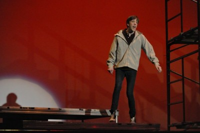 Junior admitted to prestigious theater summer program