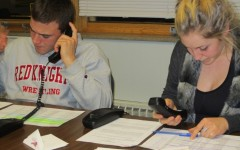 Students pick up the phone to raise money