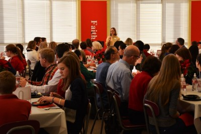 Metro-area academic achievers come to lunch at BSM