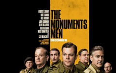 "Despite stellar cast ""Monuments Men"" disappoints"
