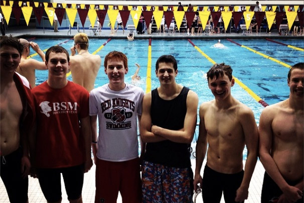 Boys swimmers make waves at state