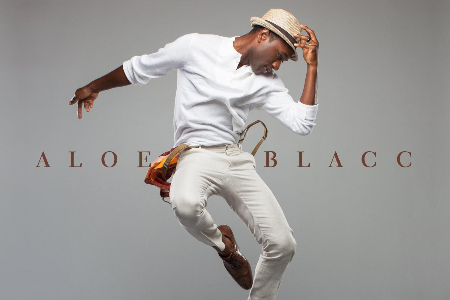 Aloe Blacc makes a name for himself in latest record