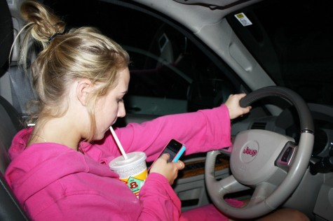 BSM community works to curb distracted driving