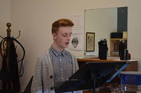 Preparing for the stage: seniors study arts at MacPhail
