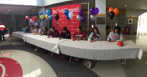 Ten BSM seniors sign their letters of intent