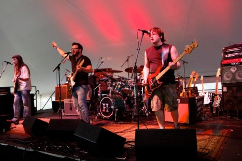 Dads continue their love of music by performing in bands