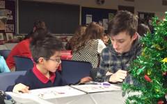 Spanish students create original books for Risen Christ elementary school