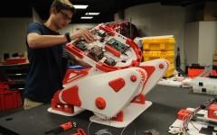 Engineering III prepares robot for Germany