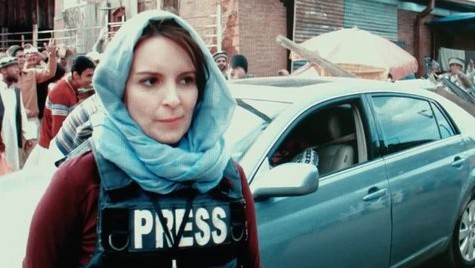"Tina Fey portrays journalist in the midst of war in the Middle East in ""Whiskey Tango Foxtrot"""
