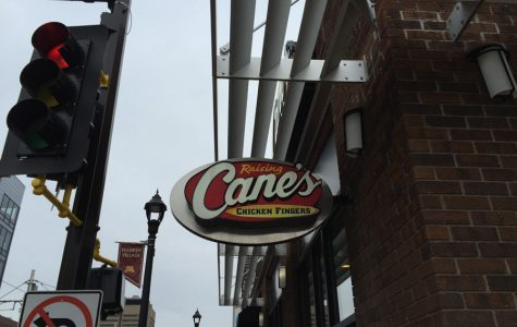 Raising the roof at restaurant Raising Cane's