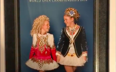 Simpson sisters compete at championship for Irish dancing