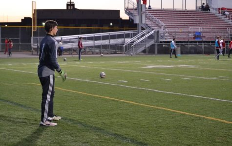 Former third-string goalie has established himself as starter going into Section playoffs