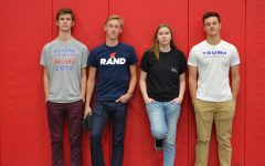 Students express political opinions on Election Day
