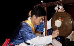 Korean drumming tour visits BSM junior high