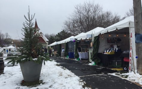 Holidazzle Village opened in Loring Park