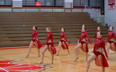 Dance Team earns 1st in Kick and 2nd in Jazz at Metro West Conference Championships