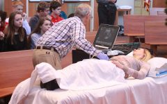 Live ultrasound performed for Health classes