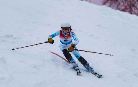 Swanson and Tucker compete for Alpine ski team at State