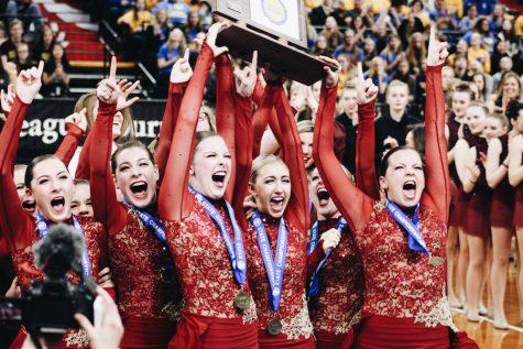 Dance Team wins State Championship in Jazz
