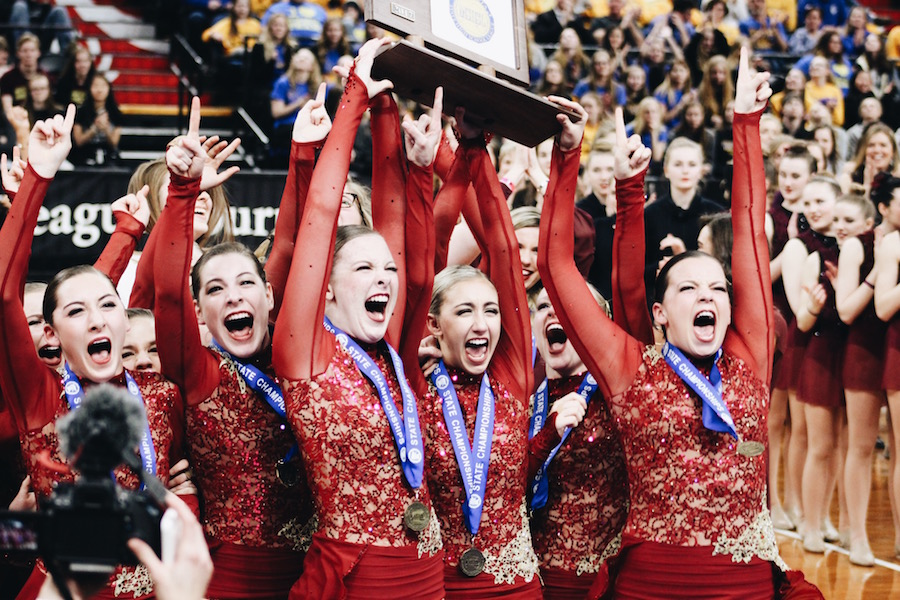 The BSM dance team won the Jazz event at this year's State Championship.