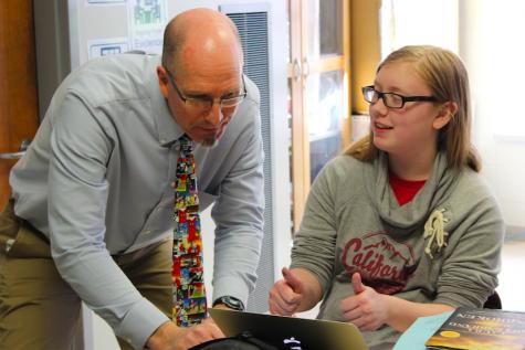 Science teacher Mr. Peterson uses different grading method