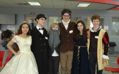 AP Euro students participate in Enlightenment Salon