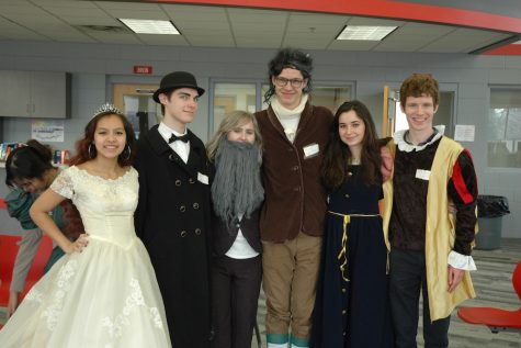 AP Euro students participate in Enlightenment Salon
