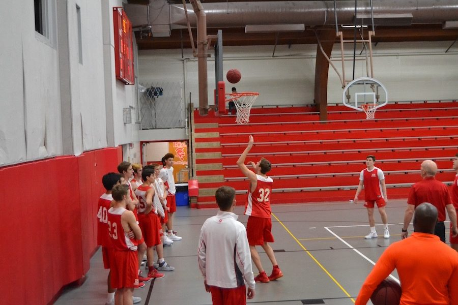 The+BSM+boys%27+basketball+team+is+looking+for+a+big+win+against+Patrick+Henry+high+school+this+Wednesday.