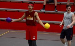 Students celebrate March Madness Week with dodgeball tournament