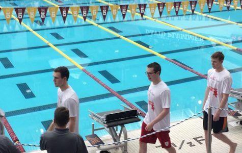 Boys' Swim team finishes top 10 in State Meet with excellent individual swims