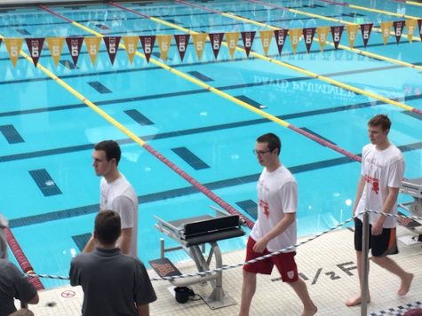 Boys' swim places 3rd at Sections, qualifies five swimmers for State